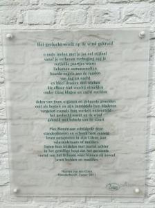 Mondriaan Gedicht molen